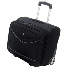 Deluxe Rolling Overnighter Business Tote