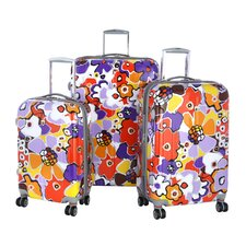 <strong>Olympia</strong> Blossom 3 Piece Hard Case Travel Set