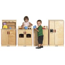 <strong>ECR4kids</strong> 4 Piece Kitchen Set