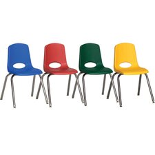 "10"" Stack Chair (Set of 6)"