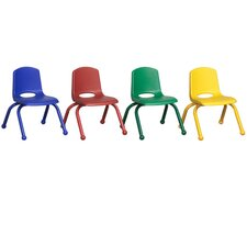 "<strong>ECR4kids</strong> 10"" Stack Chair (Set of 6)"