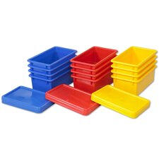 <strong>ECR4kids</strong> Stack and Store Bins with Lids (Set of 12)