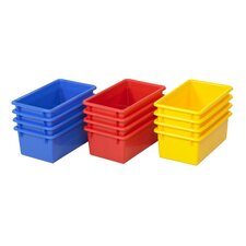 <strong>ECR4kids</strong> Stack and Store Tub with No Lid (Set of 15)