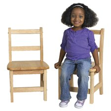 "10"" Hardwood Classroom Ladderback Chair"