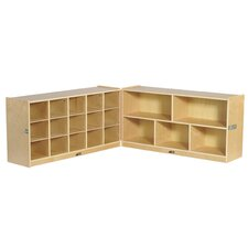 Fold and Lock 15 Tray Storage Cabinet