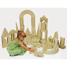<strong>ECR4kids</strong> 75 Piece Hardwood Building Block Set