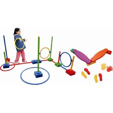 <strong>ECR4kids</strong> 62 Pieces Agility Play Set