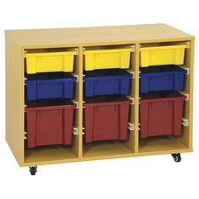 Storage Trolley with 9 Trays