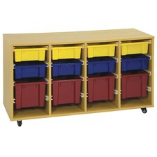Storage Trolley with 12 Trays