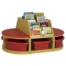 <strong>ECR4kids</strong> Four Piece Reading Sectional Set