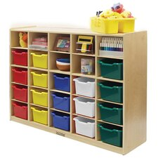 25 Tray Cabinet With 20 Assorted Bins