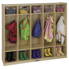 <strong>ECR4kids</strong> 5 Section Coat Locker