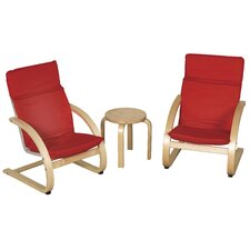 <strong>ECR4kids</strong> Kids 3 Piece Table and Chair Set