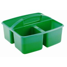 Three Compartment Small Plastic Art Caddy