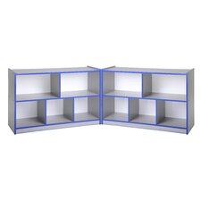 "24"" Low Fold & Lock Cabinet, Laminate"