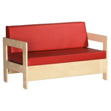 <strong>ECR4kids</strong> Living Room Set - Birch Sofa