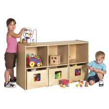 See & Store™ Shelf 6 Compartment Cubby