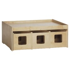 "See & Store™ 46"" x 33.5"" Rectangular Classroom Table"