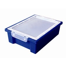 Small Storage Bin with Clear Lid