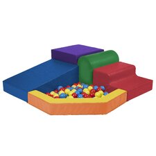 <strong>ECR4kids</strong> SoftZone™ Primary Climber with Ball Pool