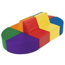 <strong>ECR4kids</strong> SoftZone™ 8 Piece Sectional
