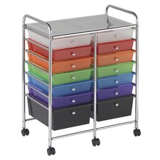 <strong>ECR4kids</strong> 14 Drawer Mobile Organizer