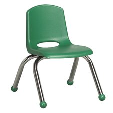 "<strong>ECR4kids</strong> 10"" Plastic Classroom Stackable Chair"