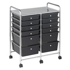 12 Drawer Mobile Organizer