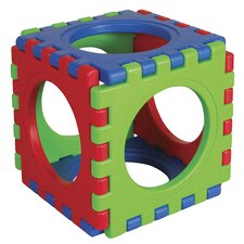 <strong>ECR4kids</strong> 6 Pieces Tunnel and Cube Set