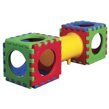 <strong>ECR4kids</strong> 13 Pieces Tunnel and Cube Set