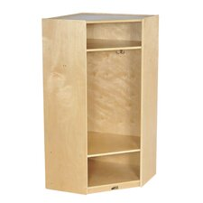 1-Section Corner Straight Locker