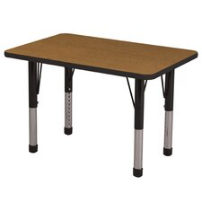 "24"" x 36"" Rectangular Adjustable Activity Table"