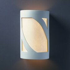 Ambiance Open Top and Bottom Prairie 1 Light Outdoor Wall Sconce