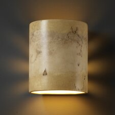 <strong>Justice Design Group</strong> Sun Dagger 1 Light Outdoor Wall Sconce