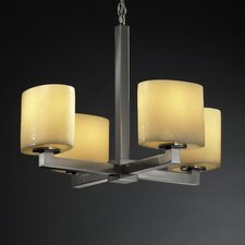 CandleAria 4 Light Chandelier