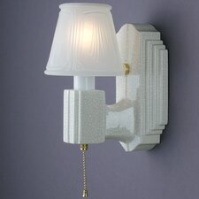 American Classics Deco 1 Light Wall Sconce