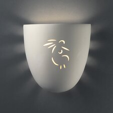 Sun Dagger Large Pocket 1 Light Wall Sconce