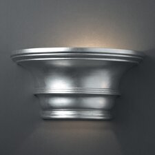 <strong>Justice Design Group</strong> Ambiance Curved Concave 1 Light Wall Sconce