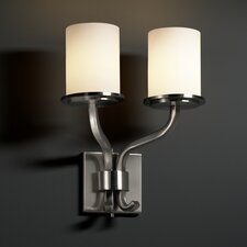 <strong>Justice Design Group</strong> Fusion Sonoma 2 Light Wall Sconce