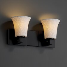 Modular Limoges 2 Uplight Bath Vanity Light