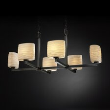 Limoges Modular 6 Light Chandelier