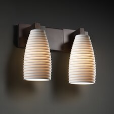 Modular Limoges 2 Light Bath Vanity Light