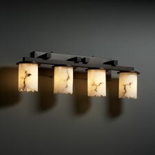 <strong>Justice Design Group</strong> LumenAria Dakota 4 Light Bath Vanity Light