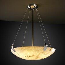 LumenAria 3 Light Inverted Pendant