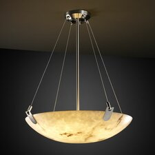 LumenAria 3 Light Inverted Pendant