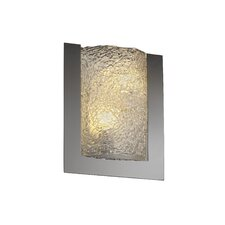 <strong>Justice Design Group</strong> Framed Veneto Luce Rectangular 3-Sided 2 Light Wall Sconce