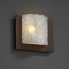 <strong>Justice Design Group</strong> Framed Veneto Luce Square 3-Sided 1 Light Wall Sconce