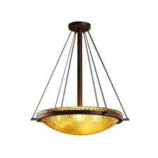 <strong>Justice Design Group</strong> Veneto Luce 6 Light Inverted Pendant