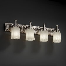 <strong>Justice Design Group</strong> Heritage 4 Light Bath Vanity Light