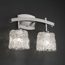 <strong>Justice Design Group</strong> Archway 2 Light  Bath Vanity Light